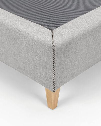 Hoge basis Nikos 150 x 190 cm grijs