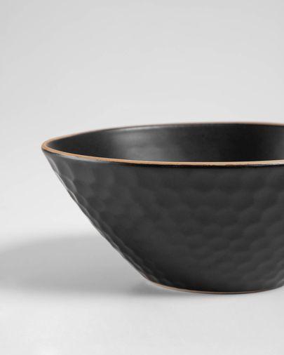 Bol Manami petit en céramique noir