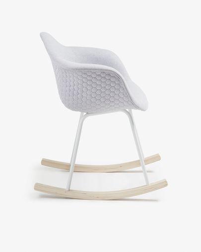 Light grey Kevya rocking chair