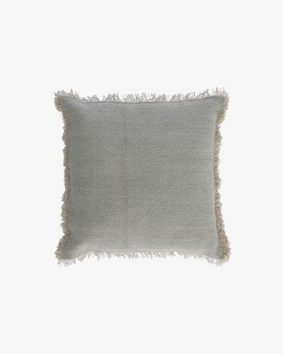 Camily light grey cushion cover 45 x 45 cm