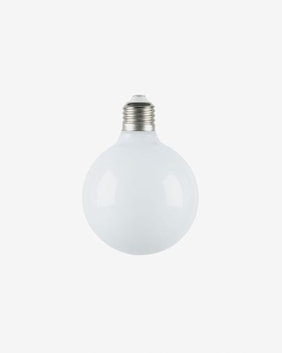 Bombilla LED Bulb E27 de 6W y 95 mm luz neutra