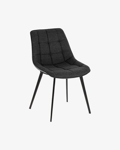 Cadira Adam gris fosc
