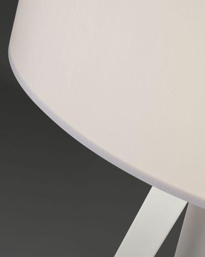 Iguazu floor lamp, white