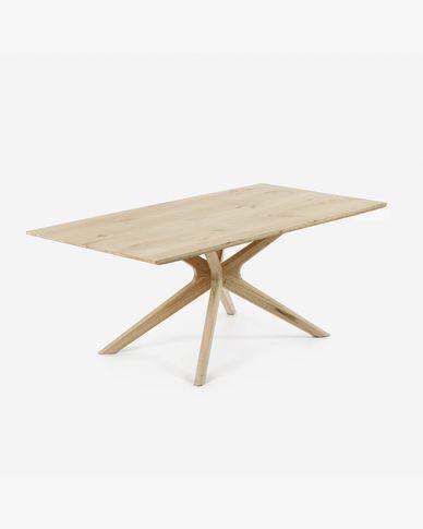 Mesa Armande 180 x 90 cm madera maciza de roble