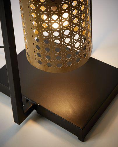 Lámpara de pie Margery de metal