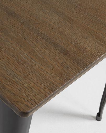 Tavolo Malira 80 x 80 cm antracite