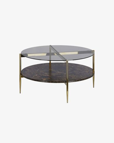 Salon tafel Kamilah Ø 84 cm