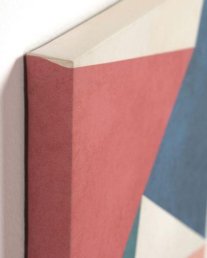 Lienzo Kyrene 28 x 35 cm triángulo rojo