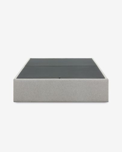 Storage bed base Matters 150 x 190 cm grey