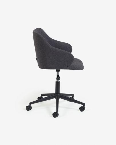 Cadira d'escriptori Einara gris fosc