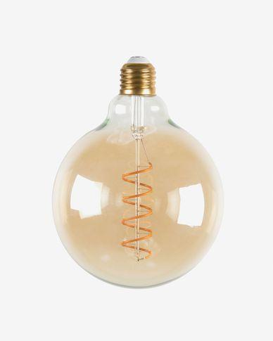 Lampadina LED E27 6W e 120 mm luce calda