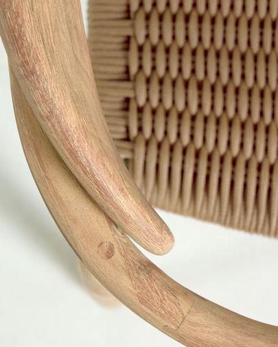 Nina Stoel beige eucalyptus FSC 100%