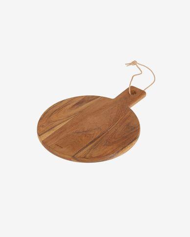 Taula de servir rodona Salma fusta massissa acàcia