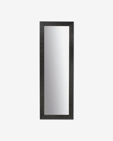 Miroir Seven 52 x 152 cm noir