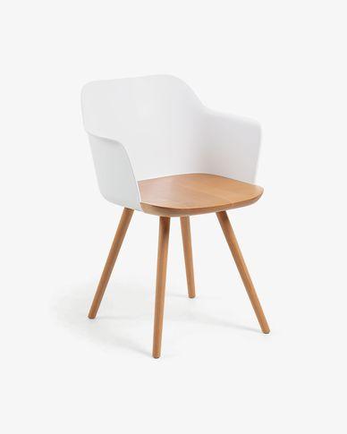 Chaise Bjorg blanc