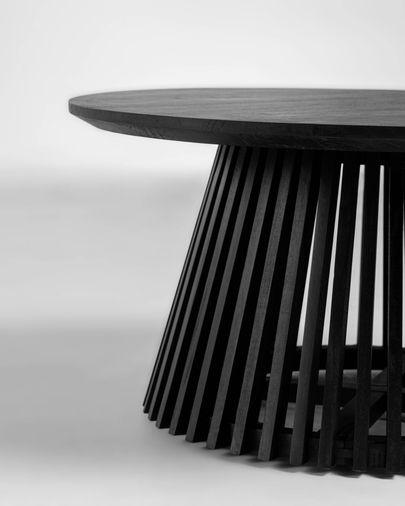 Salontafel Jeanette Ø 80 cm zwart