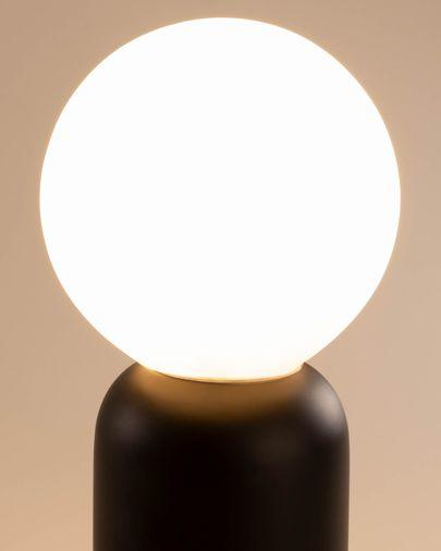 Lampada da tavolo Andina nero