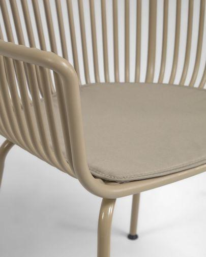 Cadira d'exterior Surpika beix