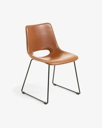 Chaise Zahara marron