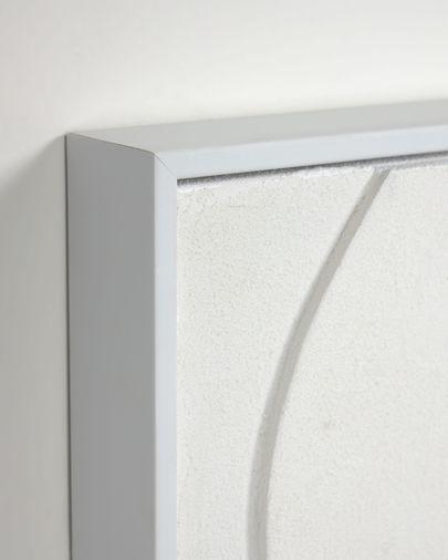 Set Beija de 2 quadres blanc 32 x 42 cm