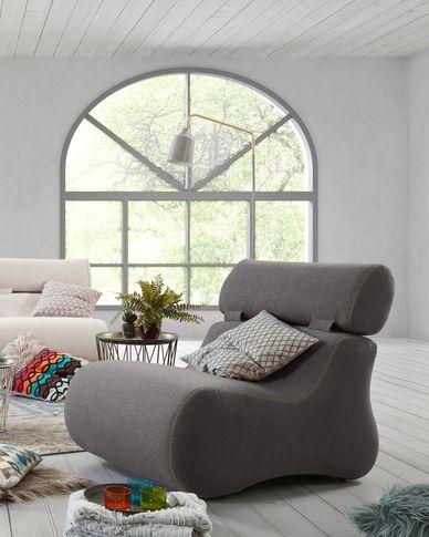 Graphite Club armchair