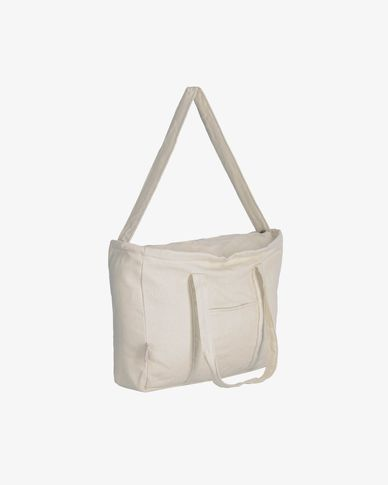 Krizia maternity bag 100% organic cotton (GOTS) in beige