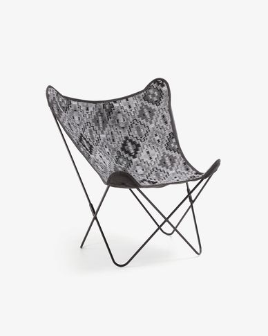 Grey Fly armchair