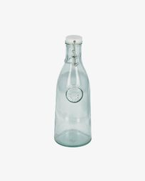 Tsiande clear glass bottle