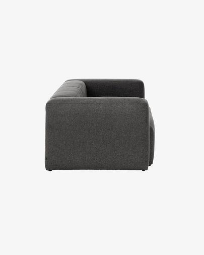Canapé 2 places Blok gris 210 cm