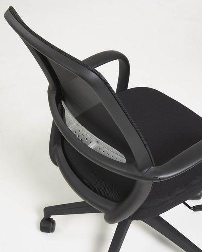 Sedia da scrivania Melva nera