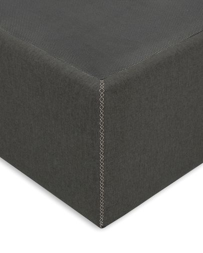 Storage bed base Matters 180 x 200 cm graphite