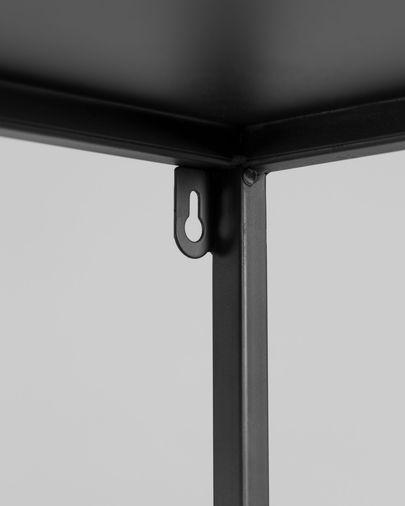 Estantería Shantay acero con acabado negro 80 x 168 cm