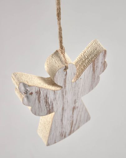 Keira set of 6 Christmas angel decorations