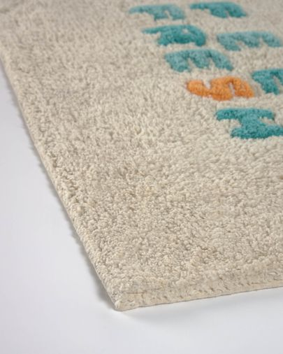 Il tappetino da bagno Nandi 40 x 60 cm feel fresh