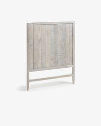 Cabecero Words de madera maciza de pino reciclada 105 x 130 cm