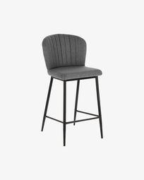 Light grey Madge 68 cm stool