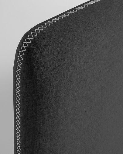 Fodera letto Dyla 150 x 190 cm grafite
