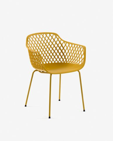 Yellow Quinn chair