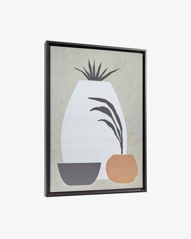 Quadro 50 x 70 cm cinzento