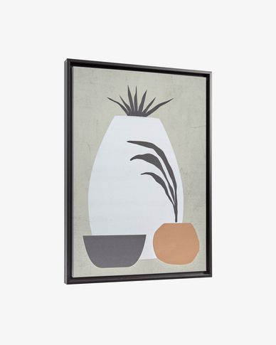Tableau Bianey 50 x 70 cm gris