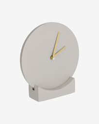 Tahiel grey clock, 19,9 cm