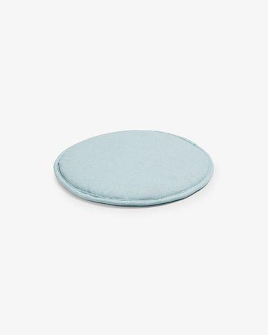 Silke cushion light blue