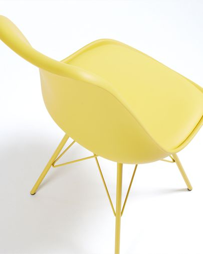 Sedia Ralf giallo