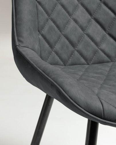 Cadira Adelia grafit