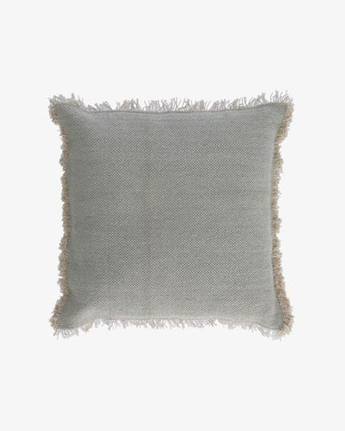 Camily light grey cushion cover 60 x 60 cm