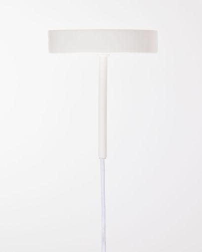 Montura para lámpara de techo Fulvia de metal con acabado blanco