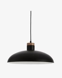 Lampe suspension Gotram noir