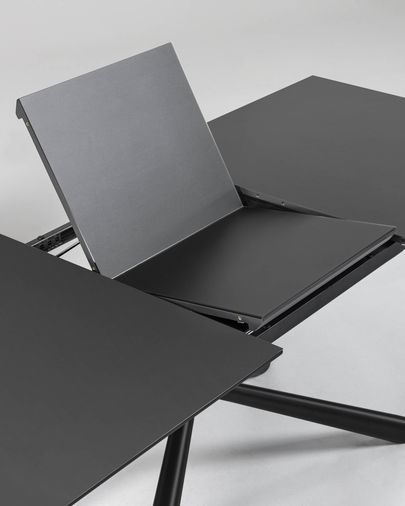 Theone uitschuifbare tafel 160 (210) x 90 cm glas