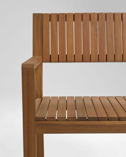 Silla de exterior Emili madera maciza acacia FSC 100%