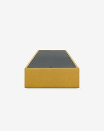 Storage bed base Matters 90 x 190 cm mustard